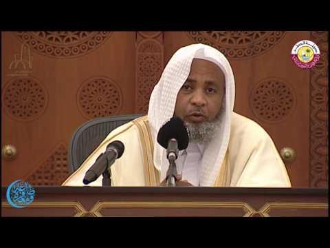 درس التراويح بجامع الامام للدكتور/ أحمد عبد القادر الفرجابي يوم الاثنين 3 رمضان 1438 هجريا