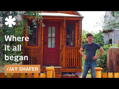 homes - Jay Shafer of the Tumbleweed Tiny House Company gives us a tour of his 89-square-foot home on wheels parked in Sebastapol, California. He sells plans for the...