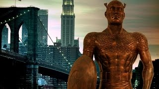 A Bronze Captain America Statue is Being Built in Brooklyn - Up At Noon Live! by IGN