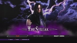 WWE 2K14 - Defend the Streak - Undertaker vs Everyone 67-0 - YouTube