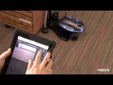 rovio - cool gadget, web kamera na kotačima koju možete kontrolirati putem interneta.