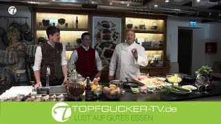 Kalbfleischpflanzerl mit lauwarmem Kartoffelsalat | Topfgucker-TV
