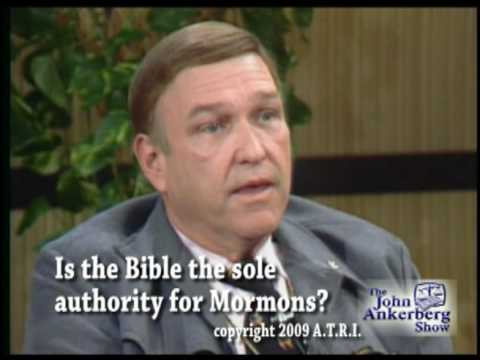 Is the Bible the sole authority for Mormons?