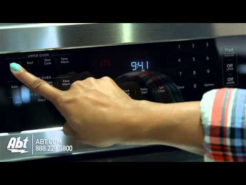 KitchenAid 30 Stainless Steel Freestanding Gas Double Oven KFGD500ESS - Overview