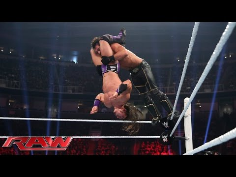Download Neville vs. Seth Rollins - WWE World Heavyweight Championship Match: Raw, Aug. 3, 2015 HD Mp4 3GP Video and MP3
