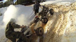 4. Yamaha Warrior 350 Leaves Two Banshee ATVs Behind