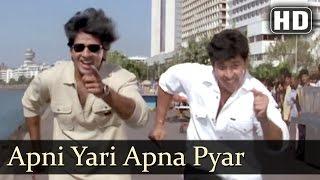 Apni Yari Apna Pyar  Sikandar Sadak Ka Songs  Manik Bedi  Samrat Mukerji  Playful  Filmigaane