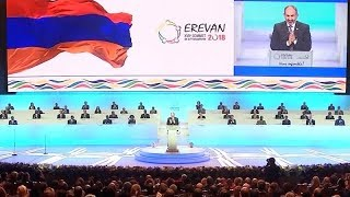 The 17th Francophone Summit Kicked off in Yerevan