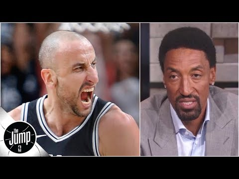 Manu Ginobili Did Something That I Never Could - Scottie Pippen | The Jump