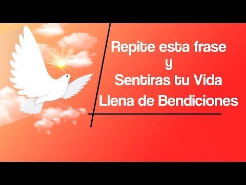 Frases de vida - REPITE ESTA MAGICA FRASE CADA INSTANTE DE TU VIDA Y TE SENTIRAS LLENO DE BENDICIONES
