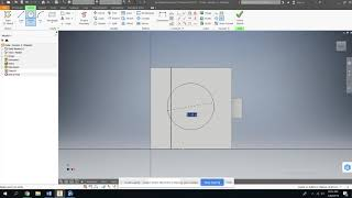 Intro to Autodesk: Part 5: Circles with referenced dimensions.