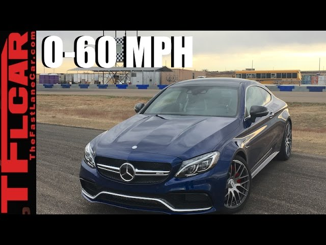 2017 Mercedes Amg C63 S 0 60 Mph Review Fast