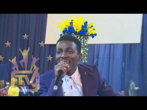 FRANK EDWARDS LIVE AT OMEGA FIRE MINISTRIES HEADQUARTER WITH APOSTLE SULEMAN