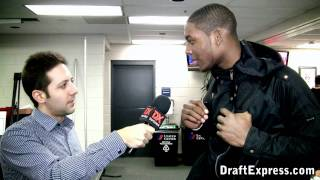 Branden Dawson - 2011 McDonald's All-American Game (Interview)