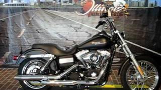 2. 2008 Harley-Davidson Dyna Street Bob FXDB Black Denim