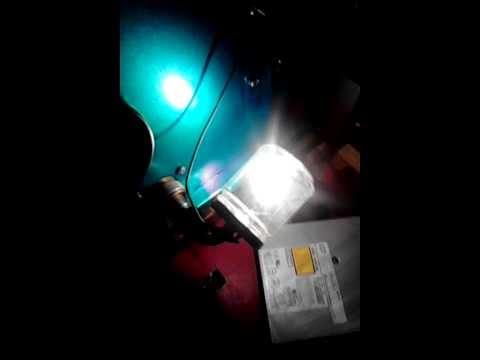 lampada a filamento di carbone