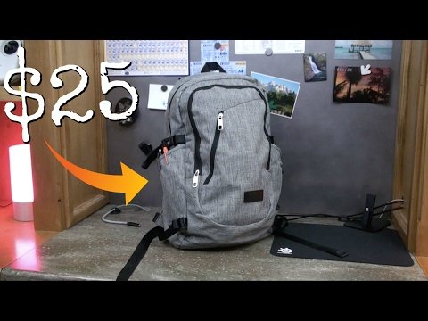 The $25 Tech Backpack!
