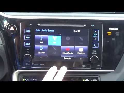 2017-2019 Toyota Corolla Factory Entune GPS Navigation Radio Upgrade - Easy Plug & Play Install!