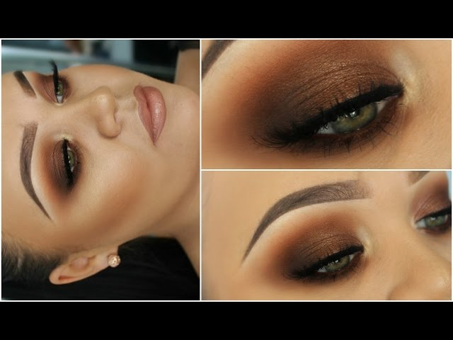 Kim-kardashian-bronze-smokey-eyes