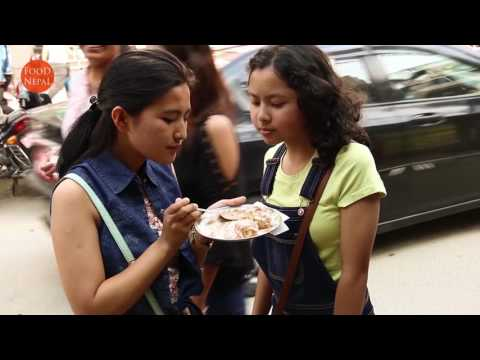 (Food Nepal - Best Spicy Dahi Puri And Aloo Chutney ...2 min, 43 sec)
