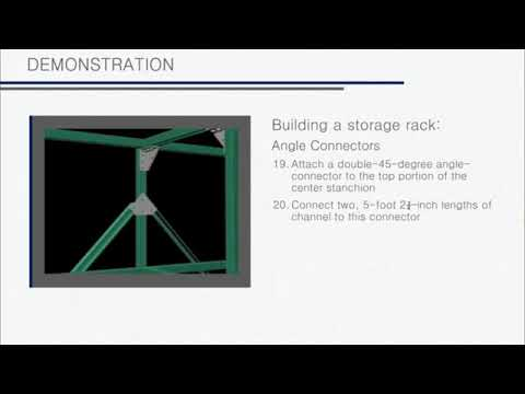 Unistrut Installation Demonstration