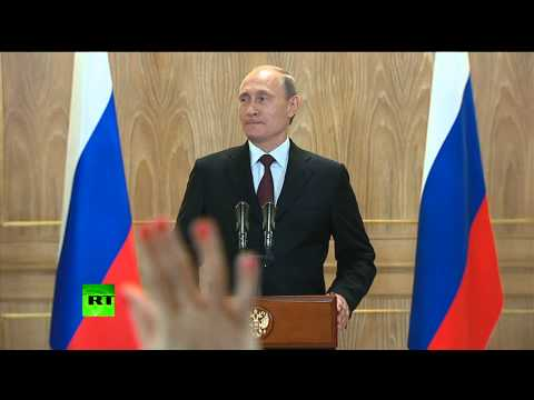 oil - President Putin held a presser on a close door meeting he had with Ukrainian President Petro Poroshenko. RT LIVE http://rt.com/on-air Subscribe to RT! http://www.youtube.com/subscription_center?a...