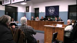 Town Board Meeting - January 28, 2015