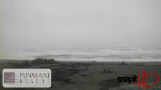 Punakaiki Webcam Sunday 1st August 2010