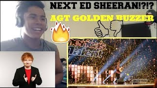 The Next Ed Sheeran Gets GOLDEN BUZZER From DJ Khaled On AGT 2017 ...