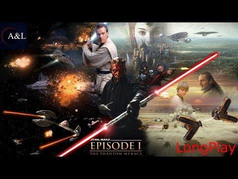 PS1 - Star Wars: Episode I - The Phantom Menace - LongPlay [4K]🔴