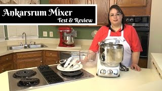 "Join Amy for a test & review of the Ankarsrum Assistent Original Stand Mixer. This mixer is also known as the Electrolux, the DLX, the Magic Mill, or the Verona. This mixer is unique because it has a bowl that spins and a roller that gently kneads bread dough. It is similar to the Bosch Universal mixer in that it has a hub at the bottom of the mixer. It comes with the main stainless steel bowl with roller and scraper as well as a plastic bowl with cookie paddles and whips for making cookies, batters, whipped cream, and meringue. I am looking forward to testing this Ankarsum stand mixer against the KitchenAid stand mixer Pro600 and Commercial as well as the Bosch Universal.Amy Learns to Cook is all about learning to make simple, tasty food from fresh ingredients.  One year ago, I made a commitment to stop eating processed convenience foods.  I decided to learn to cook ""real"" food. Join me!  Let's learn to cook together! Enjoy! Please share! Ankarsrum Assistent Original Mixer:http://amzn.to/2n4pmQcAnkarsrum Assistent Original Mixer Deluxe Package:http://amzn.to/2nSR7soAmy's Ankarsrum Stand Mixer Unboxing:https://youtu.be/EGsZVAMgXFwPlease SUBSCRIBE to my channel, LIKE, and leave a COMMENT.Please visit my website: www.amylearnstocook.comAny links in this description, including Amazon, are affiliate links."