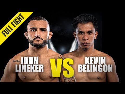 John Lineker vs. Kevin Belingon | ONE Championship Full Fight