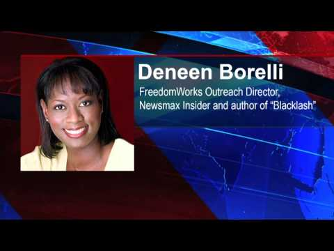 Federal Government - Deneen Borelli, FreedomWorks Outreach Director, Newsmax Insider and author of 'Blacklash', joins Steve to discuss the continued attacks by the federal govern...