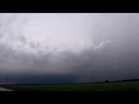 Kansas Supercell Tornado 5/28/13 - Timelapse