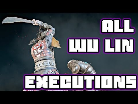 All Wu Lin Executions | For Honor | Marching Fire