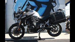 9. 2013 Triumph Tiger 1200 Explorer ...Travel the world on this Motorcycle!