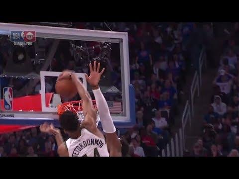 Video - NBA : Μόνο ο Γιάννης Αντετοκούνμπο τέτοιο επίτευγμα