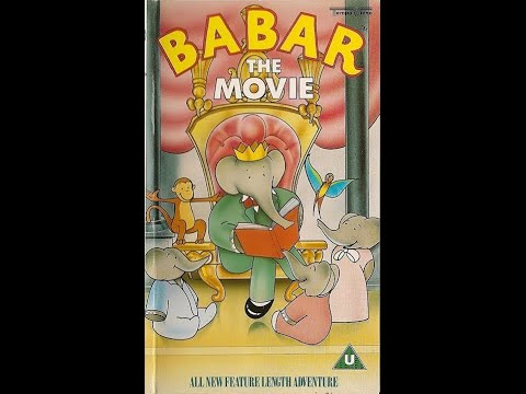 Original VHS Opening: Babar: The Movie (UK Retail Tape)