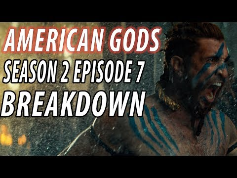 AMERICAN GODS Season 2 Episode 7 Breakdown & Details You Missed!