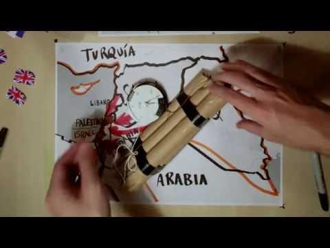 La crisis de Siria en 10 minutos y 15 mapas.