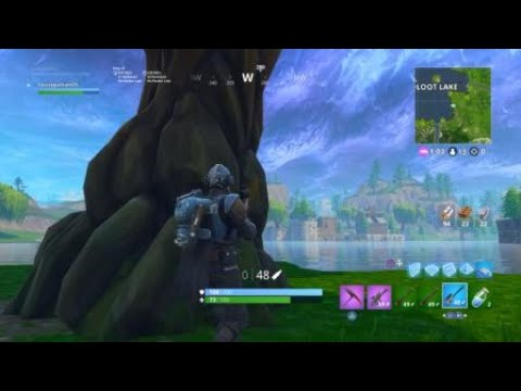Fortnite Battle Royale -  281m hunting rifle snipe (RAW CLIP)