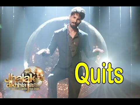 Jhalak Dikhla Jaa 8 | Shahid Kapoor QUITS The Show