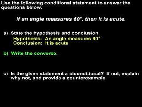 Definition Of Converse Statement In Math
