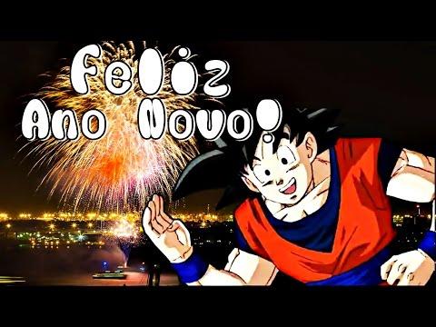 Imagens de feliz ano novo - FELIZ ANO NOVO DO GOKU - HAPPY NEW YEAR FROM GOKU