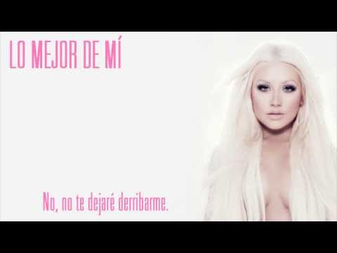 Christina Aguilera – Best Of Me (Subtitulos en Español)