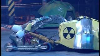 Robot Wars  Razer Vs Robochicken Vs Velocirippa  Raw Footage