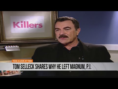 Tom Selleck shares why he left Magnum, P.I.