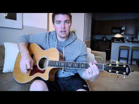 """""""Redneck Crazy"""" Beginner Guitar Lesson (Tyler Farr)"""