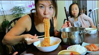 Korean Vegan Instant Ramen Noodles #라면