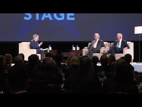 Raw Video: Former Secretaries Of State James Baker And Rex Tillerson Speak In Dallas